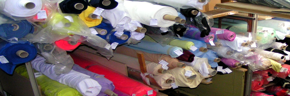 Textile and knitted fabrics, laces, microfobs, curtains and curtains, denim and many others!