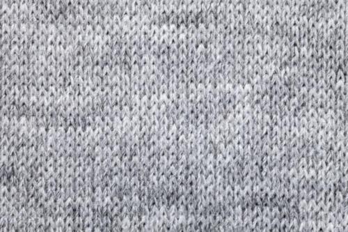 Knitted melange textile pattern